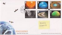 TALLENTS HOUSE PMK GB ROYAL MAIL FDC COVER 2012 SPACE SCIENCE STAMP SET