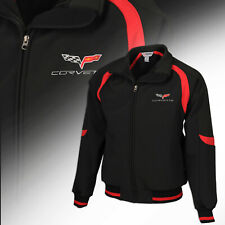 2005-2013 Mens Corvette Fast Lane Classic Jacket with Embroidered C6 Logo 620276