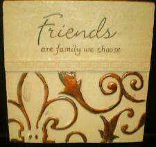 latex mould for making LOVELY FRIENDS PLAQUE
