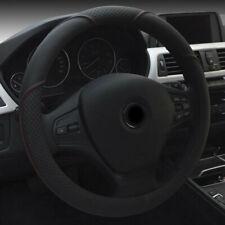 Car Anti-slip Microfiber Leather Steering Wheel Cover Protector 38CM Protector