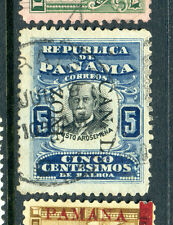 Canal Zone Scott #24 Overprint 'CAN-L ZONE' Var.Pos. 40 Used Stamp (#CZ24-1)