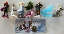 Kinder, Frozen 2,EU 2021, SD285A, SD289, VU335 - VU340, compl. set with all Bpz