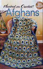 Hooked on Crochet AFGHANS Pattern Book Annie's Attic 6 patterns
