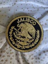Jalisco Mexico Eagle Shield Embroidered Patch iron on diferentes estilos