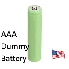 AAA Placeholder Dummy Battery Batteries Shell for Digital Camera US Ship