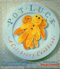 Pot Luck : Celebrity Cook Book  (Hardback, 1987)