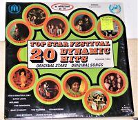 K-tel 20 Top Star Festival Dynamic Hits Volume Two - 1972 Vinyl LP Record Album