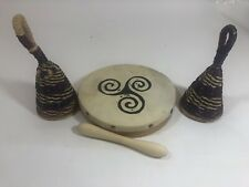 New ListingCaxixi Cane Basket shaker Traditional straw percussion Musical Instrument Africa