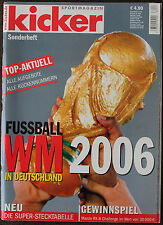 Fußball FOOTBALL KICKER DFB XVIII. FIFA WM WC WORLDCUP GERMANY DEUTSCHLAND 2006