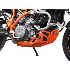Motorschutz KTM 990 SMT / SMR / 950 SMR LC8 Bj  Aluminium Orange