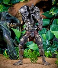 NECA 30th Anniversary Movie Alien Hunter Predator Jungle Hunter Masked Prototype