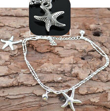 Sexy Women Starfish Ankle Chain Anklet Bracelet Foot Jewelry Sandal Beach Chain