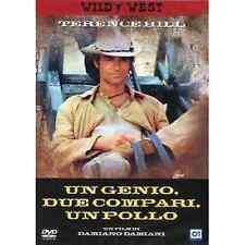 Dvd UN GENIO, DUE COMPARI, UN POLLO - (1975) ***Terence Hill*** ......NUOVO