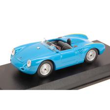 PORSCHE 550 RS 1957 4 CILINDRI 110 CV AZZURRO 1:43 Best Model Auto Stradali