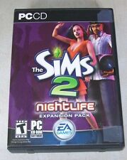 THE SIMS 2 NIGHTLIFE EXPANSION PACK PC VIDEO GAME
