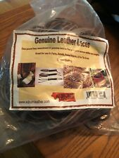Auburn Leather Repair Lace Bundle Assorted Leather and Sizes 1 lb Bag New In Bag