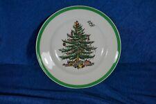 Vintage Festive SPODE Christmas Tree Pattern Bread Plate 6.5