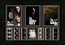 "THE GODFATHER Trilogy Framed FILM CELL and MOVIE PHOTO MONTAGE 14"" x 18"" New"