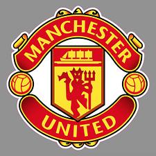 "Manchester United FC Logo 6"" Vinyl Decal Bumper Window Sticker - Football Soccer"