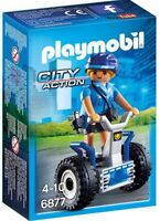 CJ6877 Mujer policía con segway 6877 playmobil police,policia