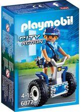 6877 Mujer policía con segway playmobil police,policia