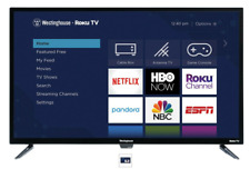 Westinghouse 32 inch HD Roku Smart LED HDTV 3 HDMI Inputs 720p