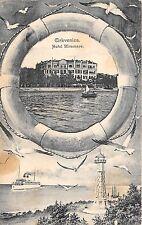 b76550  Croatia Fantasy Card Cirkvenica Hotel Miramare 1912