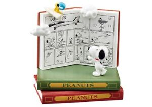 Re-Ment Rement Miniature Peanuts Snoopy Nano Book World Set # 1 Paper Airplane