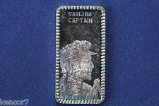 1974 Hamilton Mint Sailing Captain Profiles of the West Silver Art Bar P0836