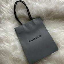 BALENCIAGA Luxury Small Paper Carrier Shopping Gift Bag - Very Good Condition!
