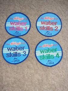 1-4 water skills set  Swimming Badge -brand new