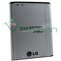 Batteria originale LG BL-52UH 2100mAh per LG L70 Bulk ricambio sostitutiva nuova