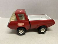 Late 70's Tonka #1265 Pressed Steel Cab Over Engine Red Mini Pick Up Truck