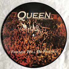 "QUEEN -Friends Will Be Friends- Rare Original UK 7"" Picture Disc (Vinyl Record)"