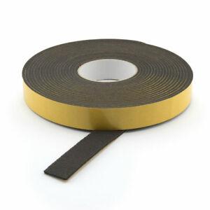 Filzband selbstklebend Breite: 25 mm Filzklebeband 3 mm Filzstreifen schwarz