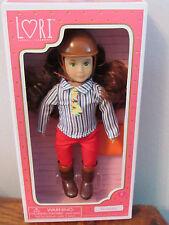 "Our Generation Lori Doll Teagan Equestrian Horse Riding Girl Small 6"" NIB"