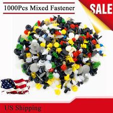 1000 Pcs Universal Mixed Auto Car Accessories Plastic Fastener Rivets Retainers