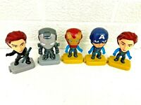 McDonald's Happy Meal Toys Avengers Lot of 5 Different Figures!