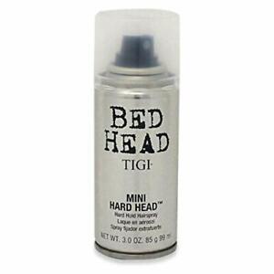 3 OZ TRAVEL SIZE * TIGI BED HEAD MINI HARD HEAD FIRM HAIR HOLD HAIRSPRAY SPRAY