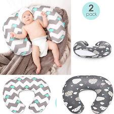 2PCs Newborn Baby Breastfeeding Pillow Cover Nursing Pillow Cover Slipcover U !