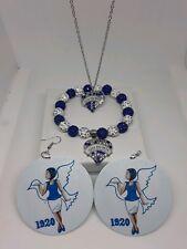 Zeta Phi Beta Bracelet And Necklace Set