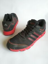 ADIDAS CLIMAWARM Lace Up Running-Training Shoes Sneakers Black-Red Mens Size 10
