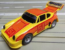 Faller Aurora -- Porsche 934 Turbo mit AFX Motor, + 2 neue Schleifer + Reifen