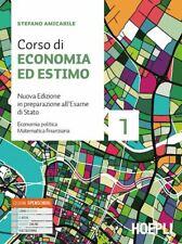 CORSO DI ECONOMIA ED ESTIMO VOL.1  - AMICABILE STEFANO - HOEPLI
