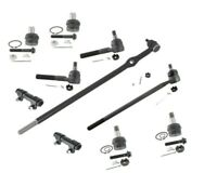 4x4 Ford F-250 XLT Pickup Center Link Upper Lower Ball Joints Rack Ends Tie Rods