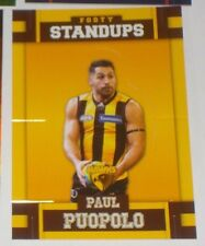 2017 Select AFL Footy Stars Standup card #FS58 Paul Puopolo - Hawthorn