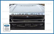 Ford Super Duty Grille Grill Hood Letters Inserts Decals Inlays - Caribou color