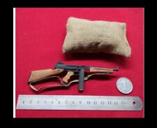 SS-MODEL 1/6 Metal & Wood Gun Model WW2 US ARMY THOMPSON Rifle Set