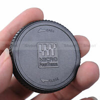 Rear Lens Cap Cover for Panasonic M4/3 Micro 4/3 Four Thirds H-PS H-FS series