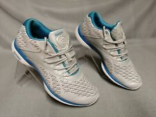 Reebok Easytone Women's Grey Lace-Up Trainers Air Soles Size UK 3.5 Eur 36